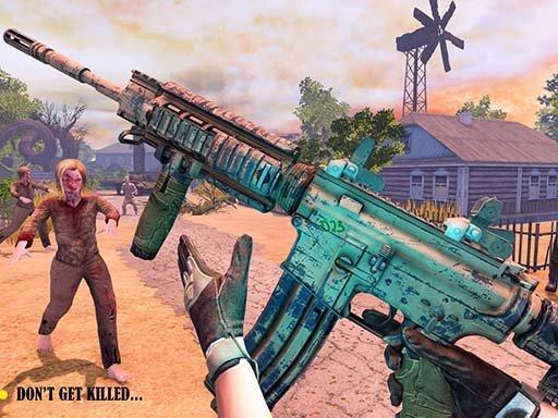 Play DEAD WARFARE Zombie Shooting Gun Games Now!