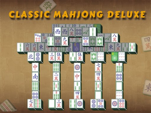 Play Classic Mahjong Deluxe Now!