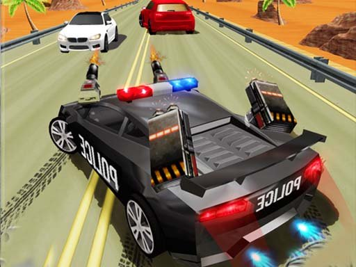 Play Police Highway Chase Crime Racing Games Now!