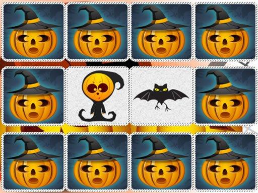 Play Memory Kids Halloween Game Now!
