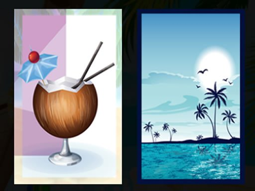 Play Beach Cocktails Memory Now!