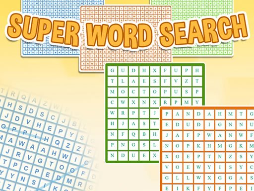 Play Super Word Search Now!
