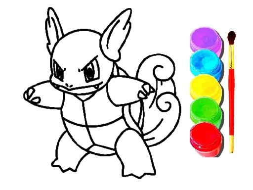 Play Pokemon Coloring Book Now!