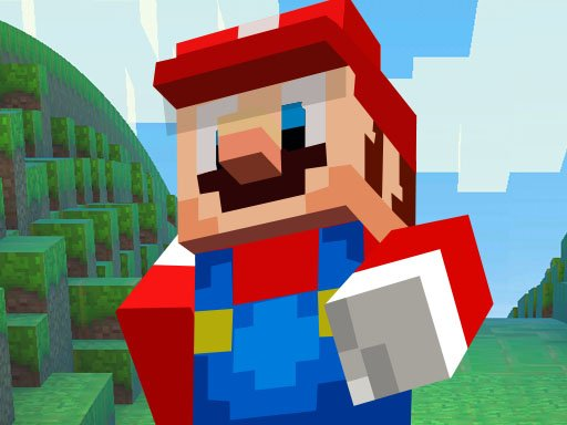 Play Super Mario MineCraft Runner Now!