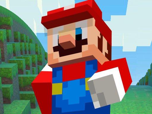 Play Super Mario MineCraft Runner Now!