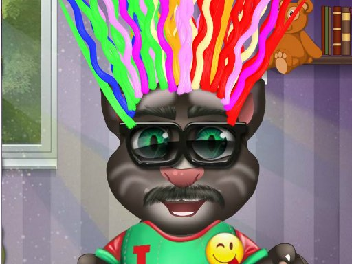 Play Baby Talking Tom Hair Salon.IO Now!