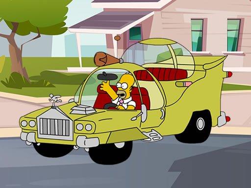 Play The Simpsons Car Jigsaw Now!