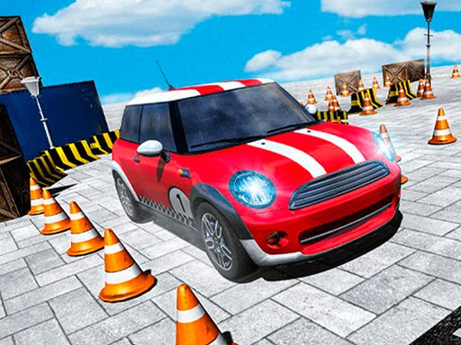 Play Foxi Mini Car Parking 2019 Car Driving Test Now!