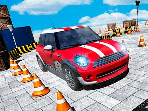 Play Foxi Mini Car Parking 2019 Car Driving Test Now!