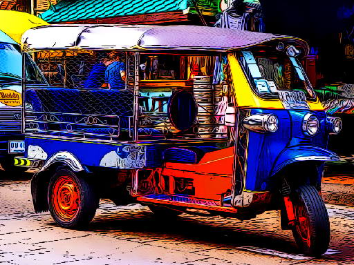 Play Tuk Tuk Tricycle Puzzle Now!