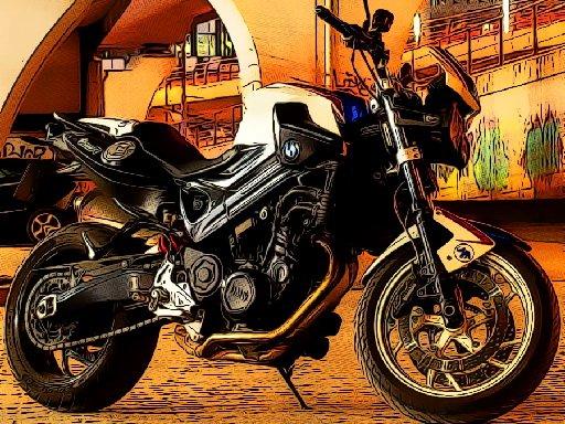 Play Fast Motorbikes Jigsaw Now!