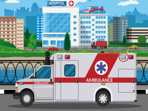 Play Ambulance Trucks Differences Now!