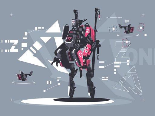Play Alien Robot Warrior Hidden Now!