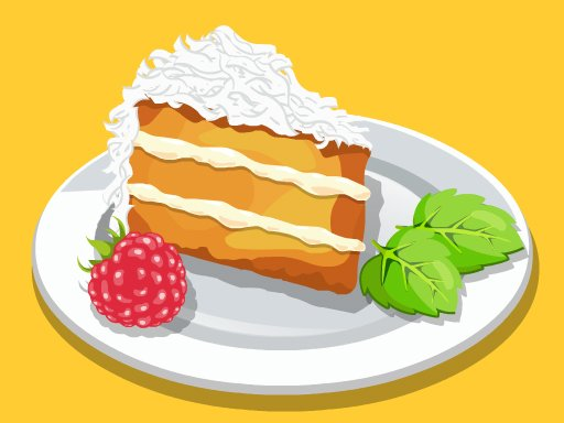 Play Almond coconut cake	 Now!