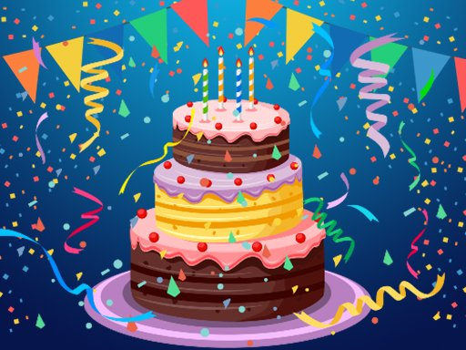 Play Birthday Cake Puzzle Now!