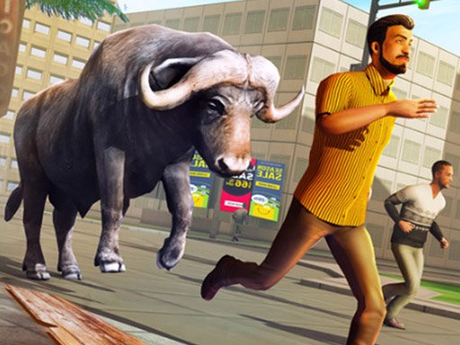 Play Angry Bull Attack Wild Hunt Simulator Now!