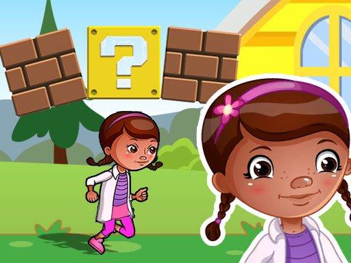 Play Dottie Doc Super Adventure Run : corona virus Shoo Now!