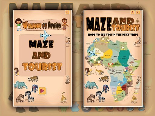 Play Maze And Tourist Now!