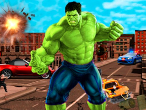 Play Incredible City Monster Hunk Hero Survival Now!