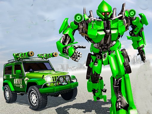Play US Police Car Real Robot Transform Now!
