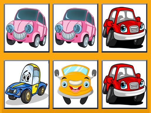 Play Funny Cars Memory Now!