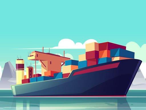 Play Cargo Ships Jigsaw Now!