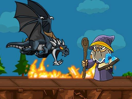 Play Dragon vs Mage Now!