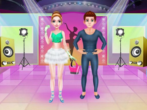 Play Ballerina Dancer Beauty Salon Now!