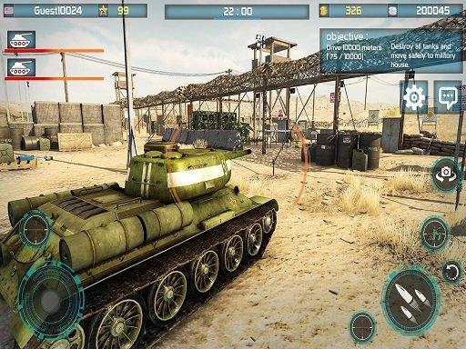 Play Tank Battle 3D : War of Tanks 2k20 Now!