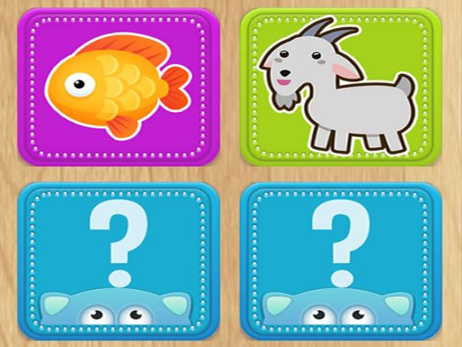 Play Find Animals Pair Now!