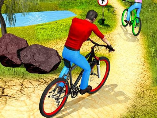 Play UPHill OffRoad Bicycle Rider Now!