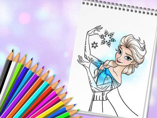 Play Amazing Princess Coloring Book Now!