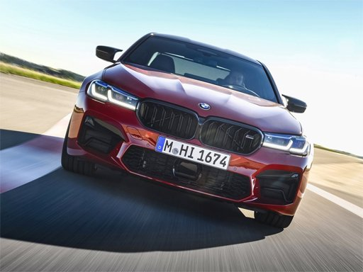 Play BMW M5 Competition Puzzle Now!