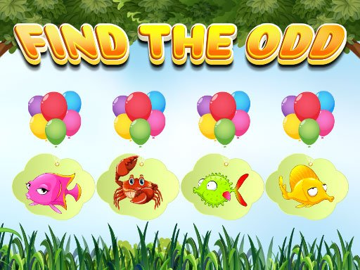 Play Find the Odd Now!