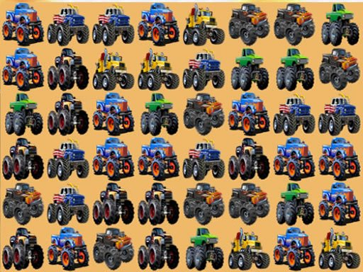 Play Monsters Trucks Match 3 Now!