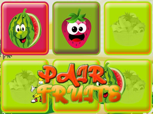 Play Pair Fruits Now!