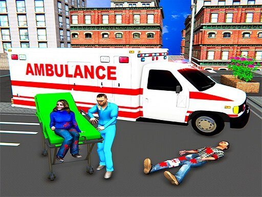 Play City Ambulance Rescue Simulator Games Now!