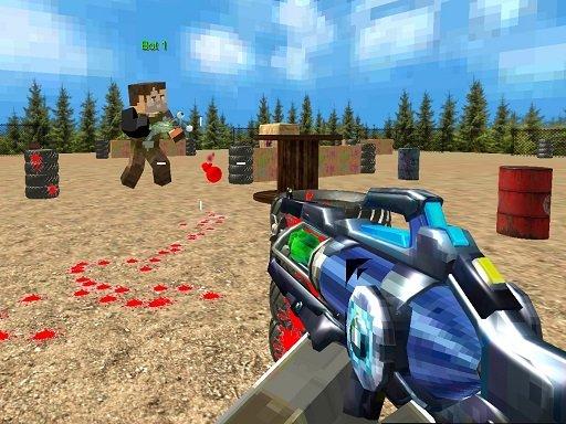 Play PaintBall Fun Shooting Multiplayer Now!
