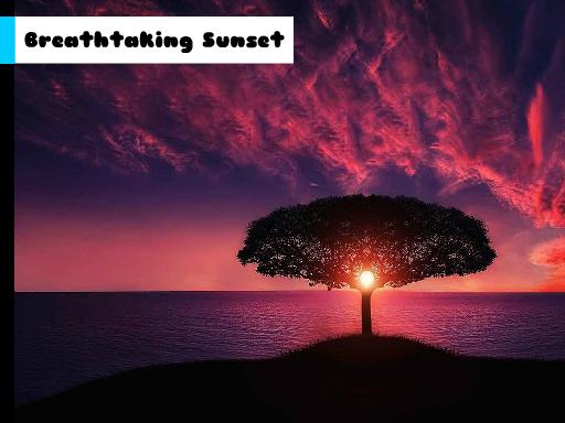 Play Breathtaking Sunset Jigsaw Now!