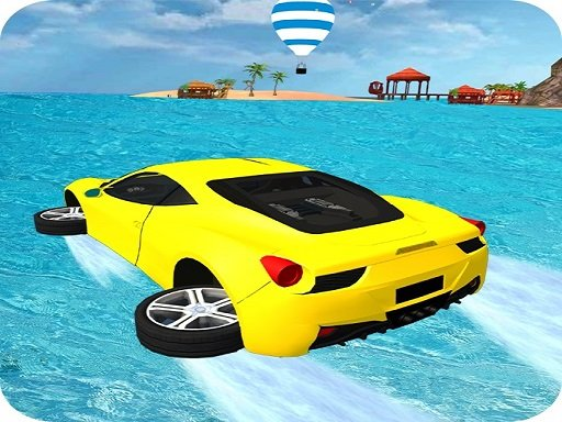 Play Water Surfing Car Stunts Game 3D Now!