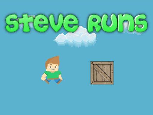 Play Steve Runs Now!