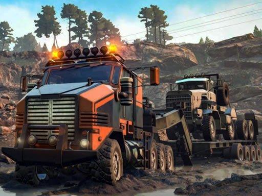 Play Trucks in Mud Jigsaw Now!
