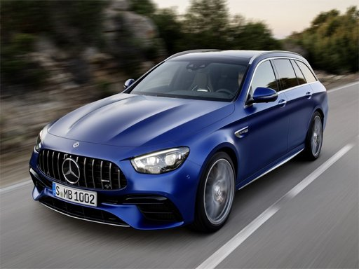 Play Mercedes-Benz E63 AMG Estate Puzzle Now!