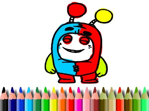 Play BTS OddBods Coloring Book Now!