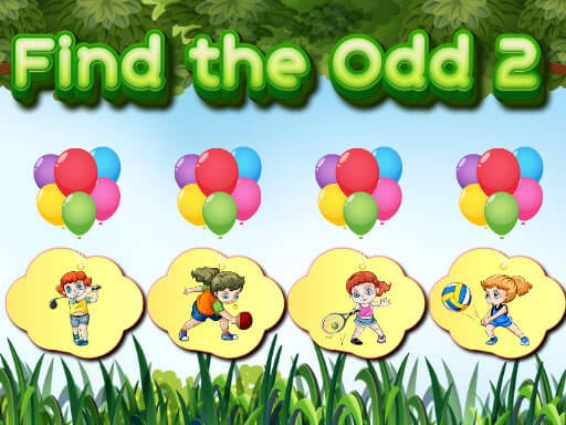 Play Find the Odd 2  Now!