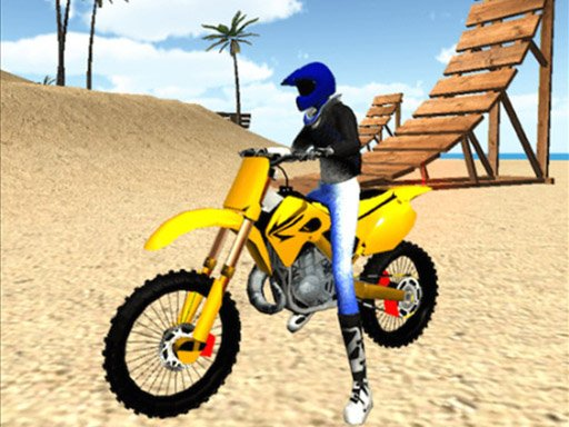 Play Beach Bike Stunt  Now!