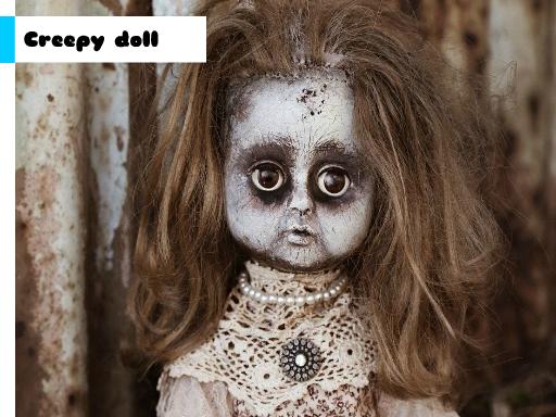 Play Creepy Doll Jigsaw Now!