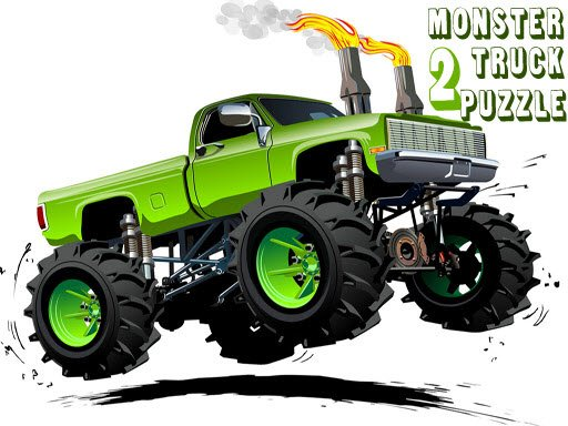 Play Monster Truck Puzzle 2 Now!