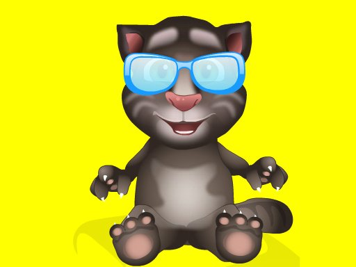 Play Baby Talking Tom Eye Doctor Now!