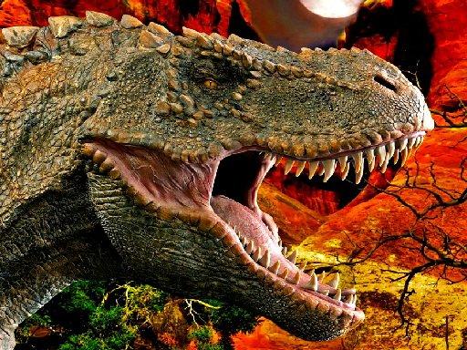 Play T-Rex Dinosaur Jigsaw Now!